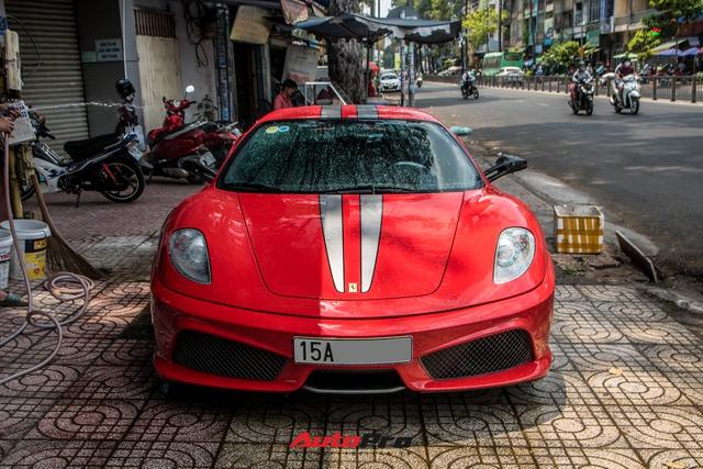 Ferrari F430 Scuderia từng của doanh nhân Hải Phòng lộ diện sau hơn 3 tháng nằm showroom - Ảnh 1.