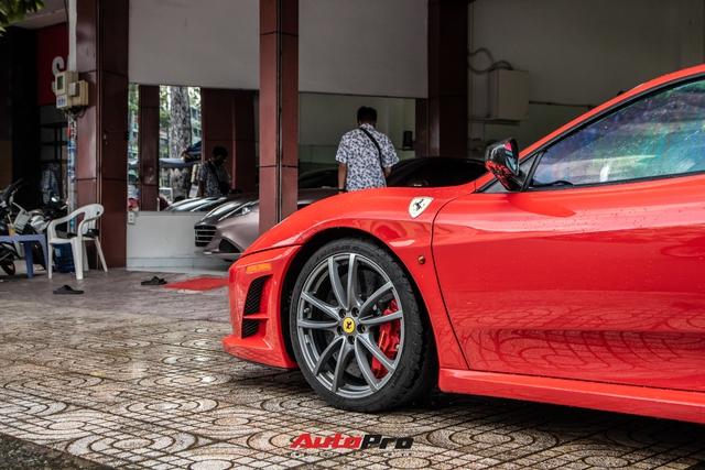 Ferrari F430 Scuderia từng của doanh nhân Hải Phòng lộ diện sau hơn 3 tháng nằm showroom - Ảnh 4.