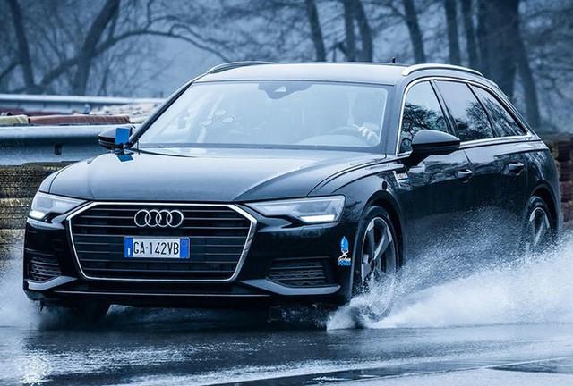 Công nghệ mới giúp ô tô tránh bị trượt nước - Ảnh 1.