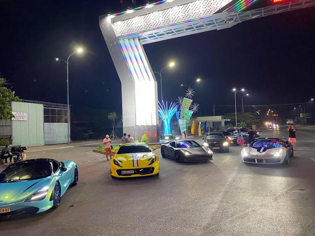 Dàn siêu xe Evo Team đổ bộ Tây Ninh dịp cuối tuần, hai chiếc xuất hiện với diện mạo mới - Ảnh 2.