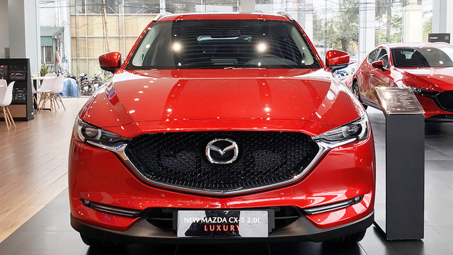 Loạt xe Mazda ưu đãi cao nhất 120 triệu: Giá CX-8 còn thấp kỷ lục, Mazda6 không quá 1 tỷ đồng - Ảnh 5.
