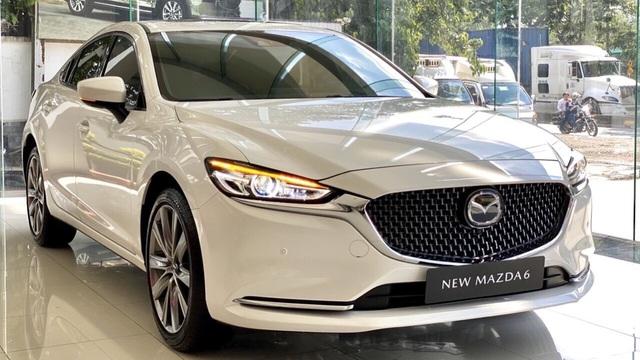 Loạt xe Mazda ưu đãi cao nhất 120 triệu: Giá CX-8 còn thấp kỷ lục, Mazda6 không quá 1 tỷ đồng - Ảnh 4.