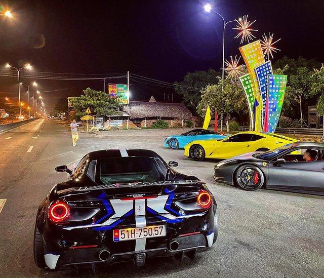 Dàn siêu xe Evo Team đổ bộ Tây Ninh dịp cuối tuần, hai chiếc xuất hiện với diện mạo mới - Ảnh 1.