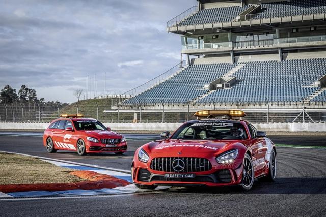 Ngắm bộ đôi Mercedes-AMG làm xe an toàn và xe y tế của giải đua F1 - Ảnh 1.