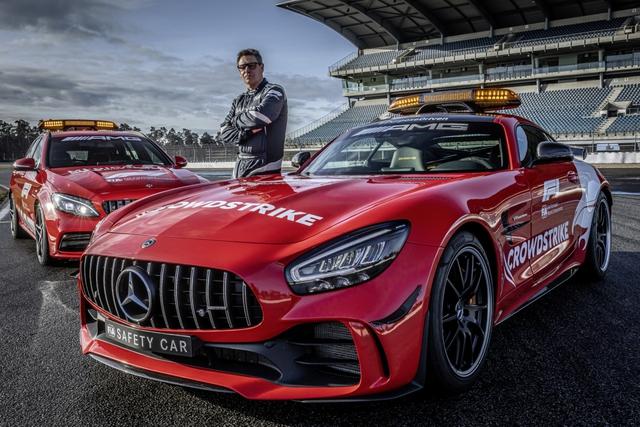 Ngắm bộ đôi Mercedes-AMG làm xe an toàn và xe y tế của giải đua F1 - Ảnh 2.
