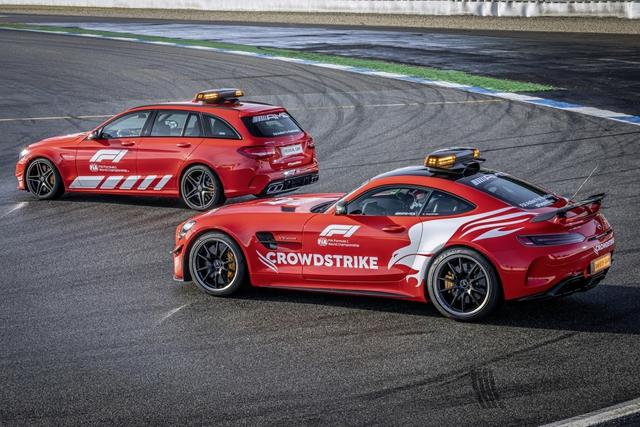 Ngắm bộ đôi Mercedes-AMG làm xe an toàn và xe y tế của giải đua F1 - Ảnh 3.