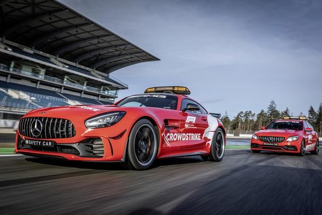 Ngắm bộ đôi Mercedes-AMG làm xe an toàn và xe y tế của giải đua F1 - Ảnh 5.