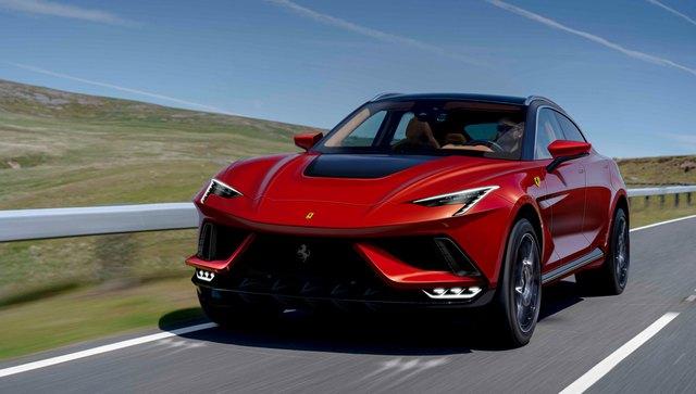 Siêu SUV đầu tiên của Ferrari sẽ dùng động cơ V12 siêu mạnh, đe nẹt Lamborghini Urus - Ảnh 2.
