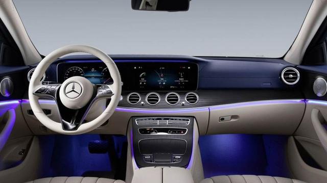 Mercedes-Benz E-Class 2021 lộ diện trần trụi tại đại lý trước ngày ra mắt: Thay đổi lớn đấu BMW 5-Series - Ảnh 5.