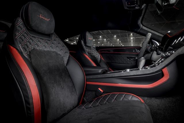 Ra mắt Bentley Continental GT Speed đời mới - Xe vận hành đỉnh nhất của Bentley, giá quy đổi từ 6,4 tỷ - Ảnh 7.