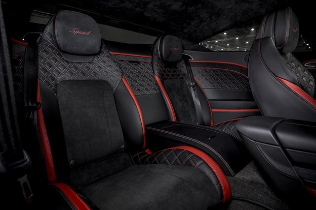 Ra mắt Bentley Continental GT Speed đời mới - Xe vận hành đỉnh nhất của Bentley, giá quy đổi từ 6,4 tỷ - Ảnh 8.