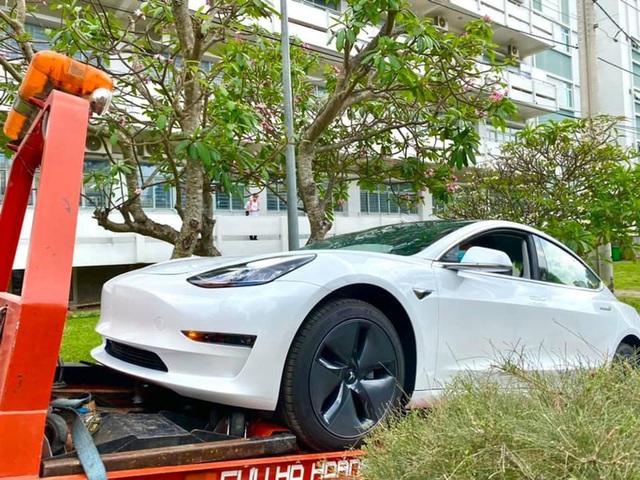 Góc chơi lớn: Một đại học ở Sài Gòn tậu hẳn Tesla Model 3 trị giá hơn 3 tỷ đồng để phục vụ việc giảng dạy cho sinh viên - Ảnh 1.
