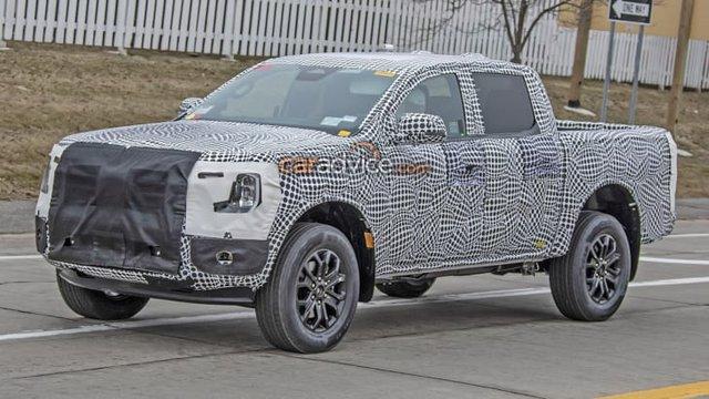 Ford Ranger Wildtrak mới lộ ảnh chạy thử, ra mắt đầu năm sau - Ảnh 2.