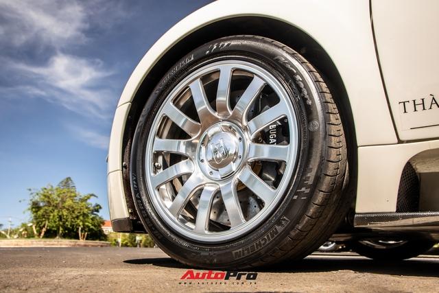 Cận cảnh Bugatti Veyron độc nhất Việt Nam vừa tái xuất sau hai năm vắng bóng: Các chi tiết vẫn như mới sau 13 năm tuổi - Ảnh 7.