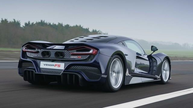 Hennesey Venom F5 sẽ đỉnh cao hơn nữa: Vươn tới 500km/h, nhắm danh hiệu siêu xe nhanh nhất thế giới - Ảnh 1.
