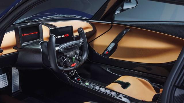 Hennesey Venom F5 sẽ đỉnh cao hơn nữa: Vươn tới 500km/h, nhắm danh hiệu siêu xe nhanh nhất thế giới - Ảnh 2.