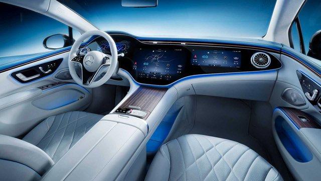 Choáng ngợp nội thất thế hệ mới của Mercedes-Benz: Nguyên táp lô là màn hình khổng lồ - Ảnh 2.