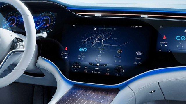 Choáng ngợp nội thất thế hệ mới của Mercedes-Benz: Nguyên táp lô là màn hình khổng lồ - Ảnh 3.