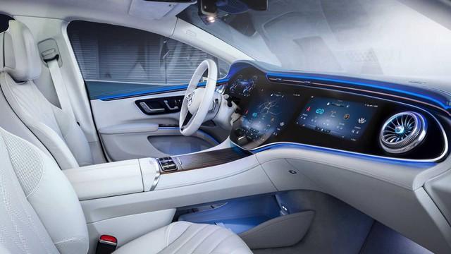 Choáng ngợp nội thất thế hệ mới của Mercedes-Benz: Nguyên táp lô là màn hình khổng lồ - Ảnh 6.