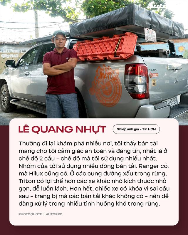 Người dùng đánh giá Mitsubishi Triton: Bán tải thiên hướng thực dụng - Ảnh 3.