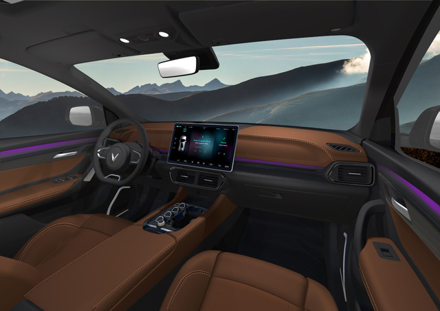 Lộ hình SUV VinFast bản quốc tế: Thiết kế như bản Việt, động cơ điện, pin có thể sản xuất tại Việt Nam - Ảnh 6.