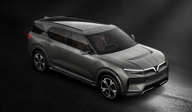 Lộ hình SUV VinFast bản quốc tế: Thiết kế như bản Việt, động cơ điện, pin có thể sản xuất tại Việt Nam - Ảnh 8.