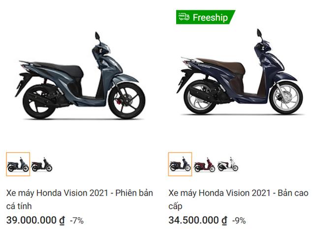 Giá xe Honda Vision tháng 3 gây bất ngờ, thời điểm vàng mua xe đã đến? - Ảnh 2.