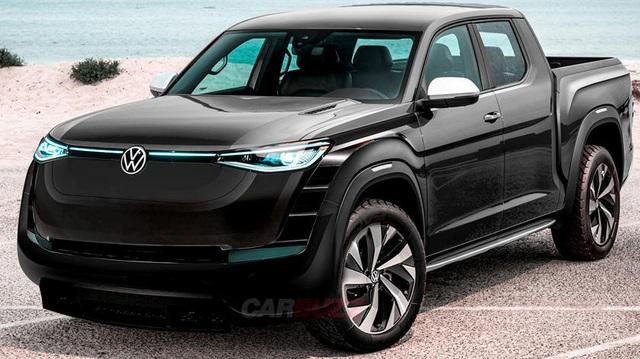 Volkswagen sẵn sàng làm bán tải đấu Tesla Cybertruck