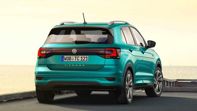 VW T-Cross sắp bán tại Việt Nam: Xe Đức cạnh tranh Kia Seltos và Hyundai Kona - Ảnh 6.