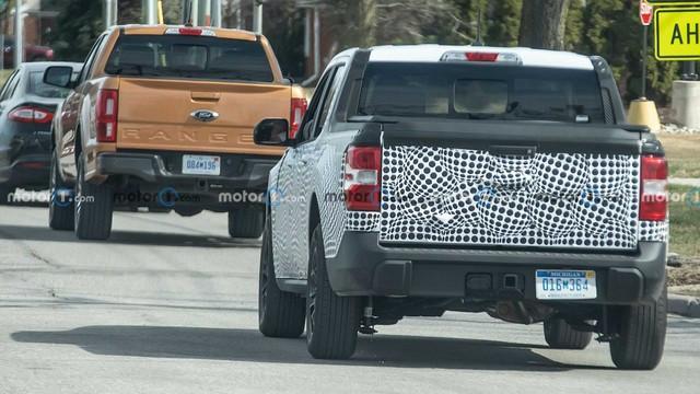 Hình ảnh tiết lộ kích thước tí hon của Ford Maverick so với Ranger - Ảnh 1.