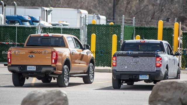 Hình ảnh tiết lộ kích thước tí hon của Ford Maverick so với Ranger - Ảnh 2.