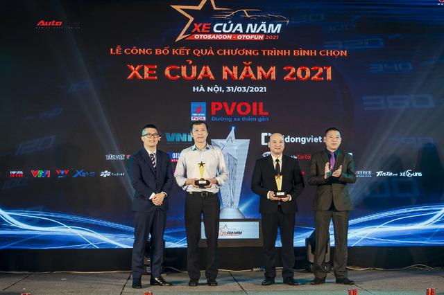 Vượt Mercedes-Benz GLC, Kia Sorento 2021 nhận giải xe của năm đầu tiên ở Việt Nam - Ảnh 3.