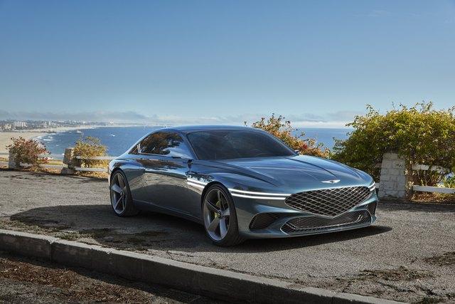 Ra mắt Genesis X Coupe Concept - Xe sang Hàn ngày càng đẹp lên trông thấy - Ảnh 1.