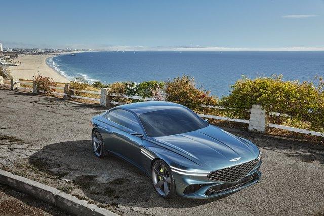 Ra mắt Genesis X Coupe Concept - Xe sang Hàn ngày càng đẹp lên trông thấy - Ảnh 6.