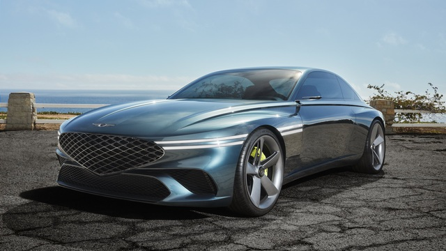 Ra mắt Genesis X Coupe Concept - Xe sang Hàn ngày càng đẹp lên trông thấy
