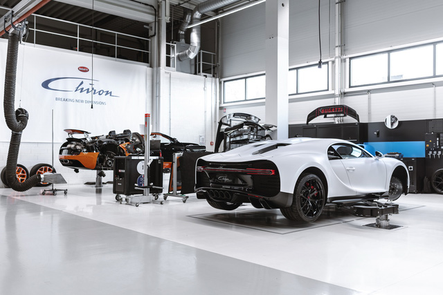 Bugatti Veyron có chương trình bảo dưỡng mới và đây là điều kiện dành cho chiếc của ông Đặng Lê Nguyên Vũ - Ảnh 1.