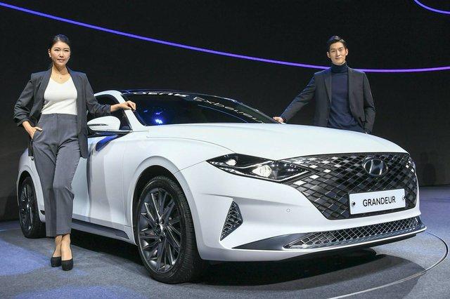Hyundai Grandeur đời mới đầu tiên về Việt Nam: Xe Hàn sang chảnh ngang kích thước Mercedes E-Class và BMW 5-Series - Ảnh 4.