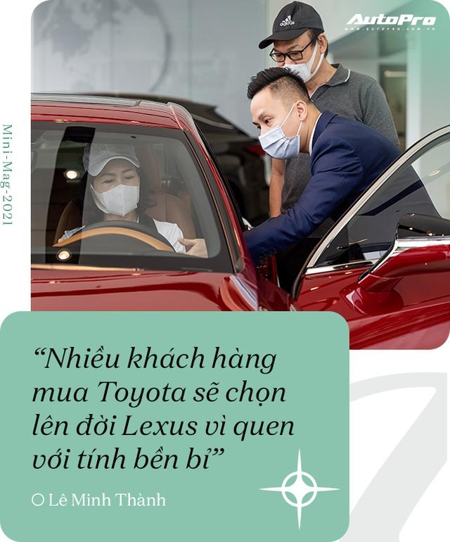 Gặp salesman bán nhiều Lexus nhất Việt Nam, được khách nữ đón bằng LX 570, tiếp như nguyên thủ - Ảnh 4.