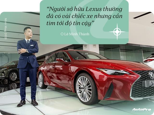 Gặp salesman bán nhiều Lexus nhất Việt Nam, được khách nữ đón bằng LX 570, tiếp như nguyên thủ - Ảnh 12.