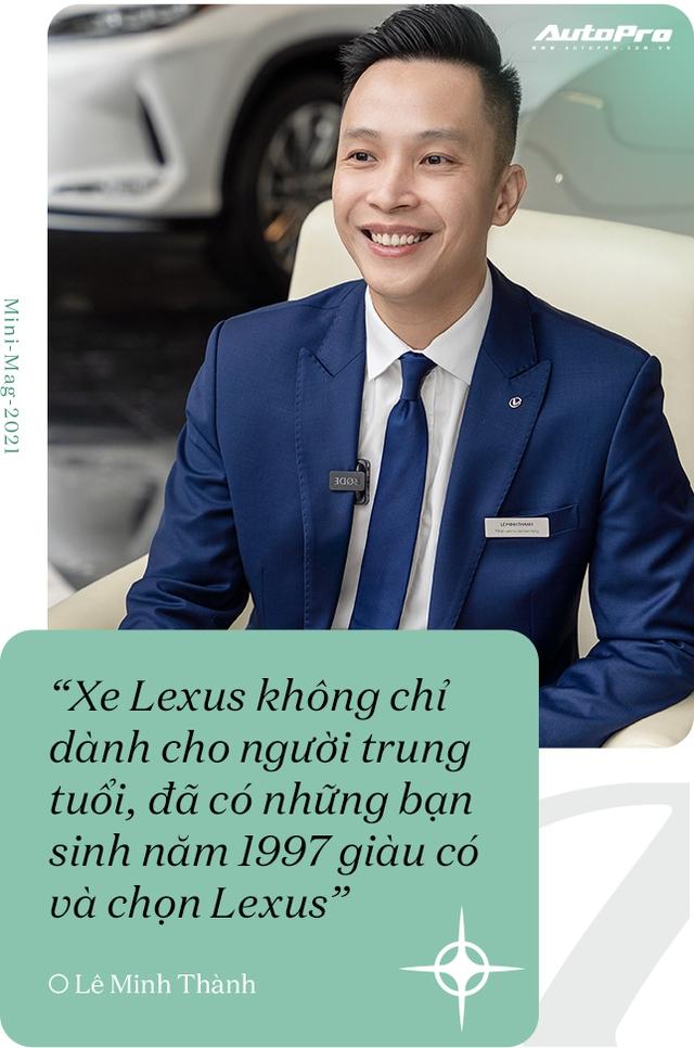 Gặp salesman bán nhiều Lexus nhất Việt Nam, được khách nữ đón bằng LX 570, tiếp như nguyên thủ - Ảnh 16.