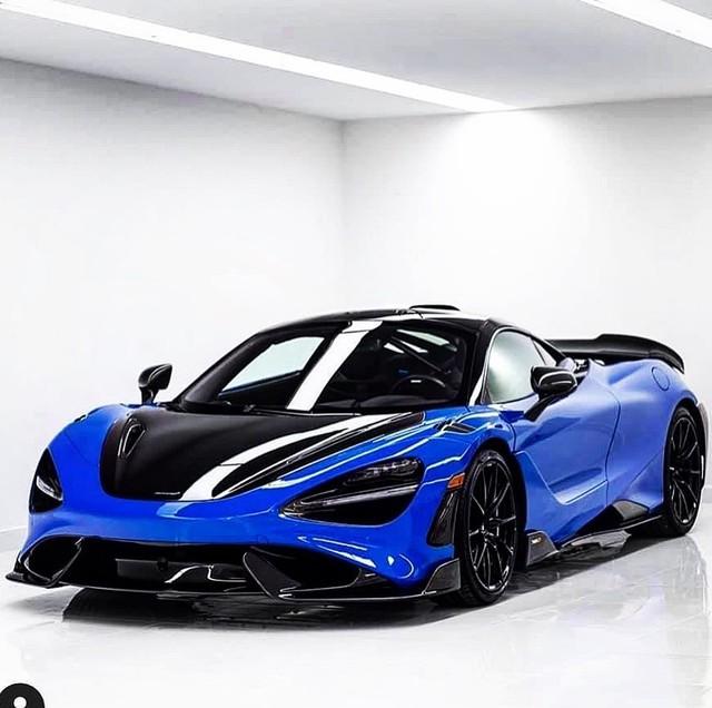 Thêm đại gia chơi lan chi hơn 30 tỷ tậu McLaren 765LT, chọn hẳn màu độc để không đụng hàng - Ảnh 1.