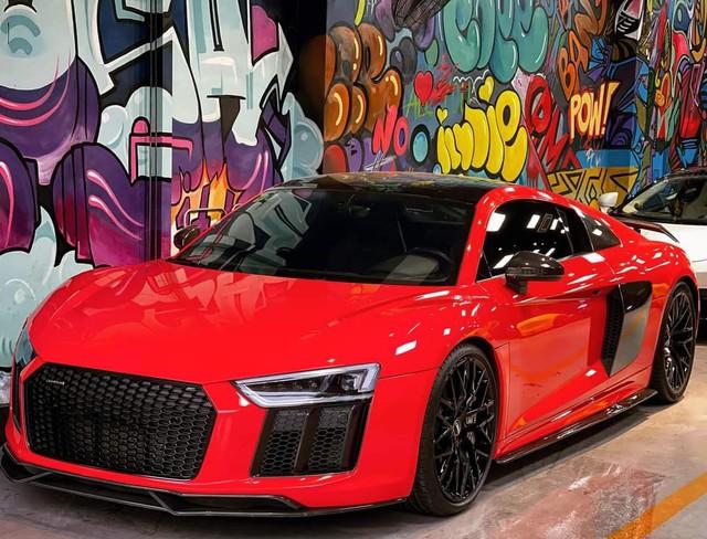 Audi R8 từng của Đông Nhi - Ông Cao Thắng bất ngờ được chào bán giá dưới 10 tỷ đồng - Ảnh 1.