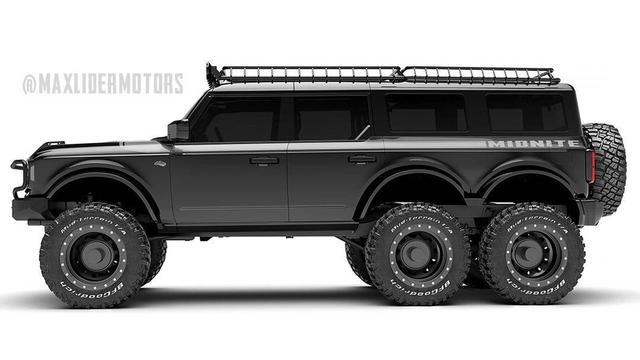 Ford Bronco 6 bánh chất không kém Mercedes-Benz G63 AMG 6x6 - Ảnh 1.