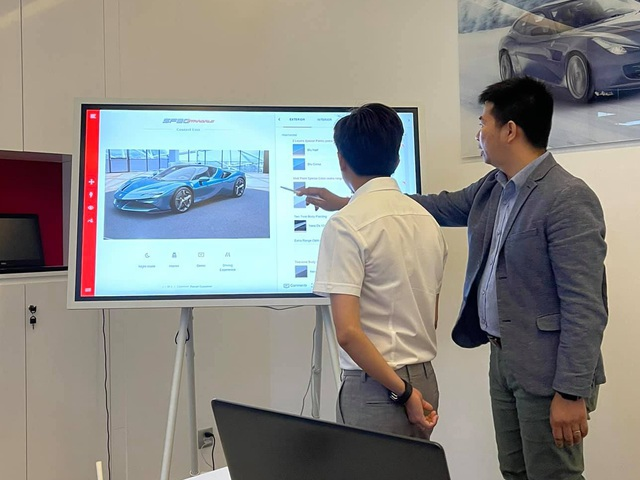 Nguyễn Quốc Cường sắm Ferrari SF90 Stradale chính hãng đầu tiên Việt Nam: Lên cấu hình riêng với màu sơn gây chú ý, có thể chờ cả năm mới có xe - Ảnh 2.