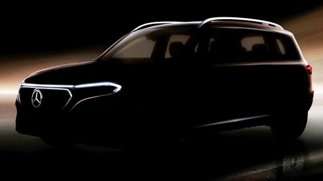 Mercedes-Benz GLB phiên bản chạy điện sẵn sàng chào sân ngay đầu tuần sau