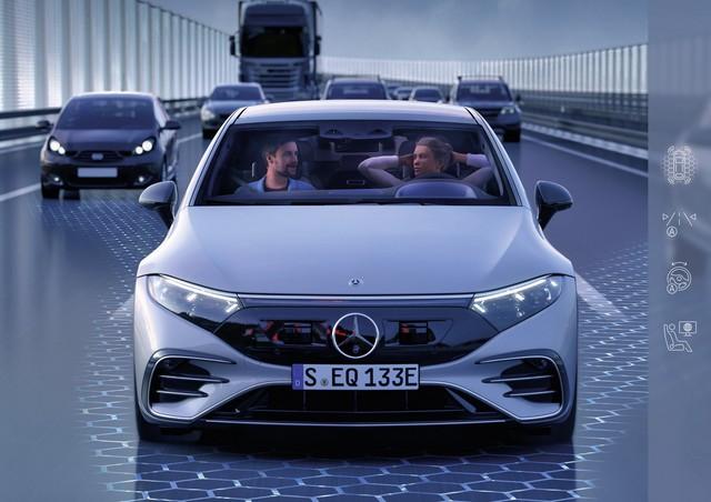 Mercedes-Benz dồn sức cho xe điện: Sẵn sàng tung SUV điện của GLE, GLS mang tên EQE, EQS - Ảnh 1.