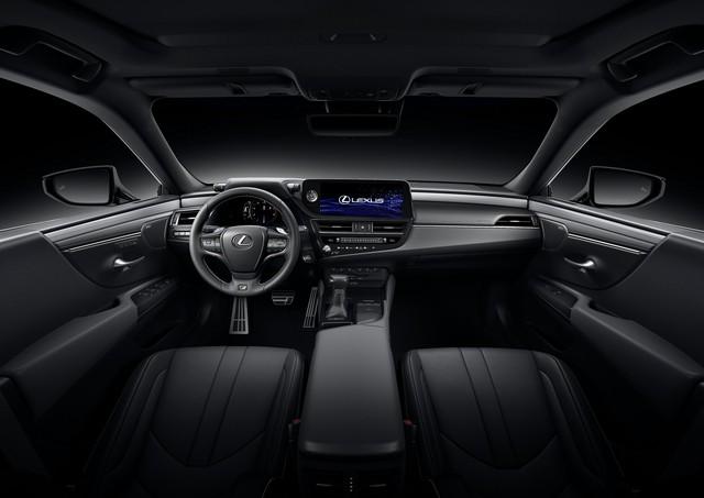 Lexus ES 2022 ra mắt: Bổ sung phiên bản, trang bị mới đấu Mercedes-Benz E-Class, BMW 5-Series khi về nước - Ảnh 6.
