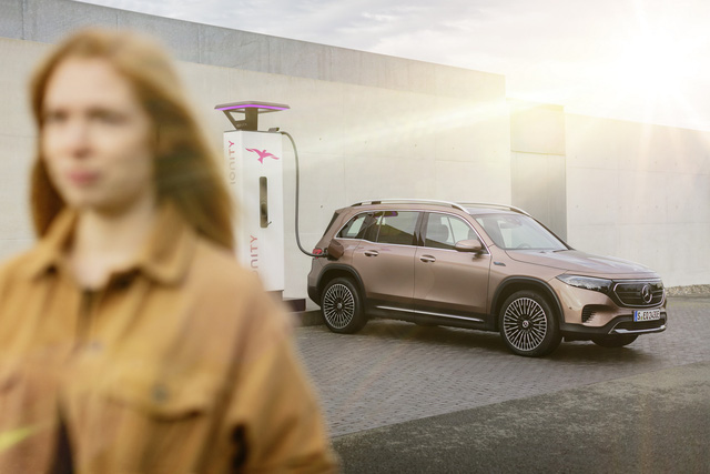 Mercedes-Benz EQB chào sân: GLB của xe điện, chỉ bán cho đại gia Trung Quốc trong năm 2021 - Ảnh 4.
