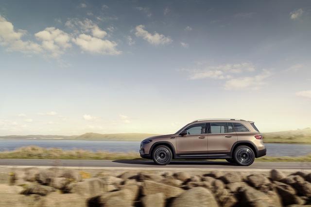 Mercedes-Benz EQB chào sân: GLB của xe điện, chỉ bán cho đại gia Trung Quốc trong năm 2021 - Ảnh 1.