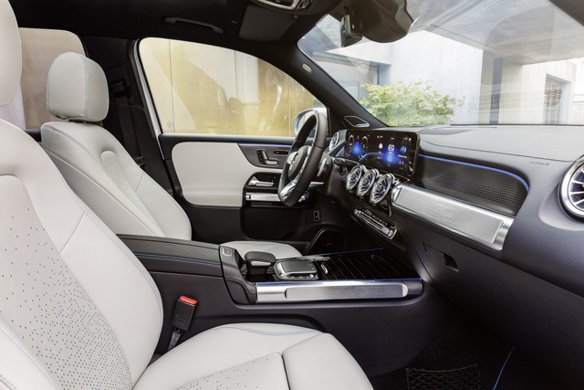 Mercedes-Benz EQB chào sân: GLB của xe điện, chỉ bán cho đại gia Trung Quốc trong năm 2021 - Ảnh 10.